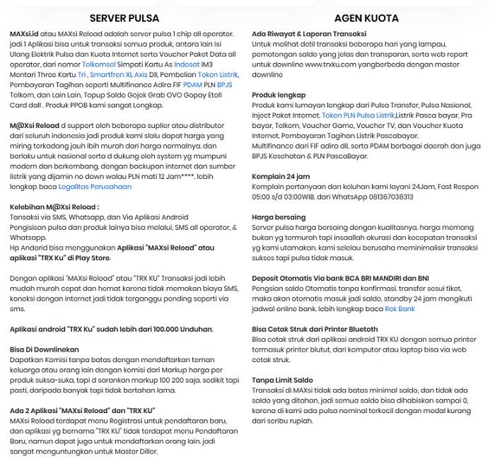 Agen Pulsa Dan Kuota Termurah Se Indonesia Berita